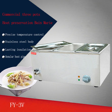 2PC FY-3V electric preserve heat tangchi machine even cooking stove to cook Snack equipment pot