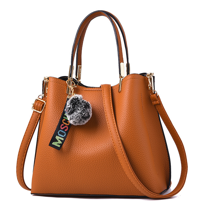 Fashion All-match Shoulder Bag Solid PU Leather Women Casual Hand Bag 2018 fashion women shoulder mochila daily women tote all match messenger bag high capacity soft casual pu leather bolsa feminina