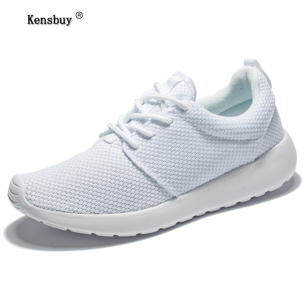 Kensbuy Women Shoes Fashion Lace-Up Casual Shoes Lightweight Breathable Mesh Outdoor Brand Walking Shoes Summer 2017  fashion designer famous brand air mesh glossy men casual shoes summer outdoor breathable durable lace up unisex fashion shoes