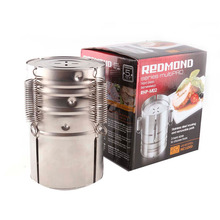 1pc Stainless Steel Press Ham Maker Machine Round Shape Meat Fish Poultry Seafood Cooking Tools Home Kitchen Accessories