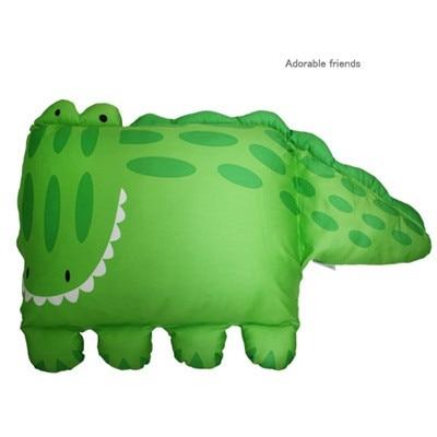 8 дизайнов, детский чехол для подушки, детский чехол для подушки/наволочка/детский чехол для подушки/наволочка в форме животного, чехол s - Цвет: Crocodile