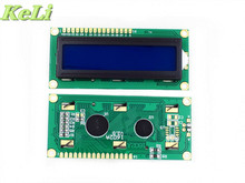 new 2PCS lcd 1602 (Blue Screen) screen Character LCD Display Module Blue Blacklight New 16X2