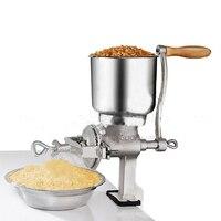 1piece Manual hand home large walnut peanut flour mill tinned iron mill grain grinder herbs