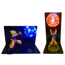 Dragon Ball Z Vegeta Son Goku Toy Table Lamp Super Saiyan Decorative Light Bulb Anime DBZ GOKU Gift 110V 220V