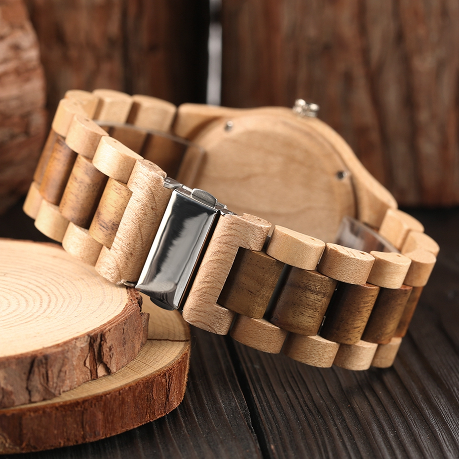 Minimalist Retro Full Wooden Watches Women Men Bamboo Wood Bracelet Fashion Creative Quartz Wristwatch Handmade Gifts Clock Hour 2018 (23)