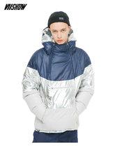 VIISHOW белая утка мужская пуховая куртка брендовая зимняя куртка для мужчин Doudoune Homme 2018 Новая Теплая мужская зимняя куртка пальто YC2335184