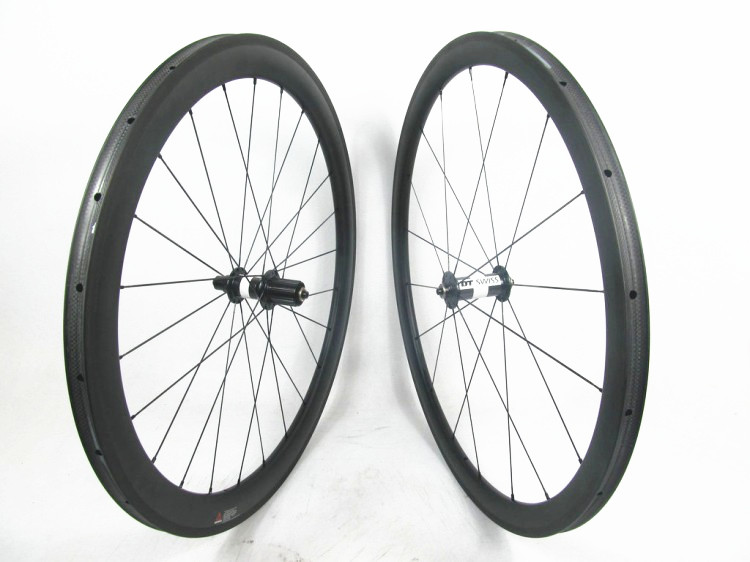 Far sports FSC3850-TM-25 DT180 HUB High end carbon tubular wheels road 700c wheels, 25mm width mixed 38mm front 50mm rear wheel