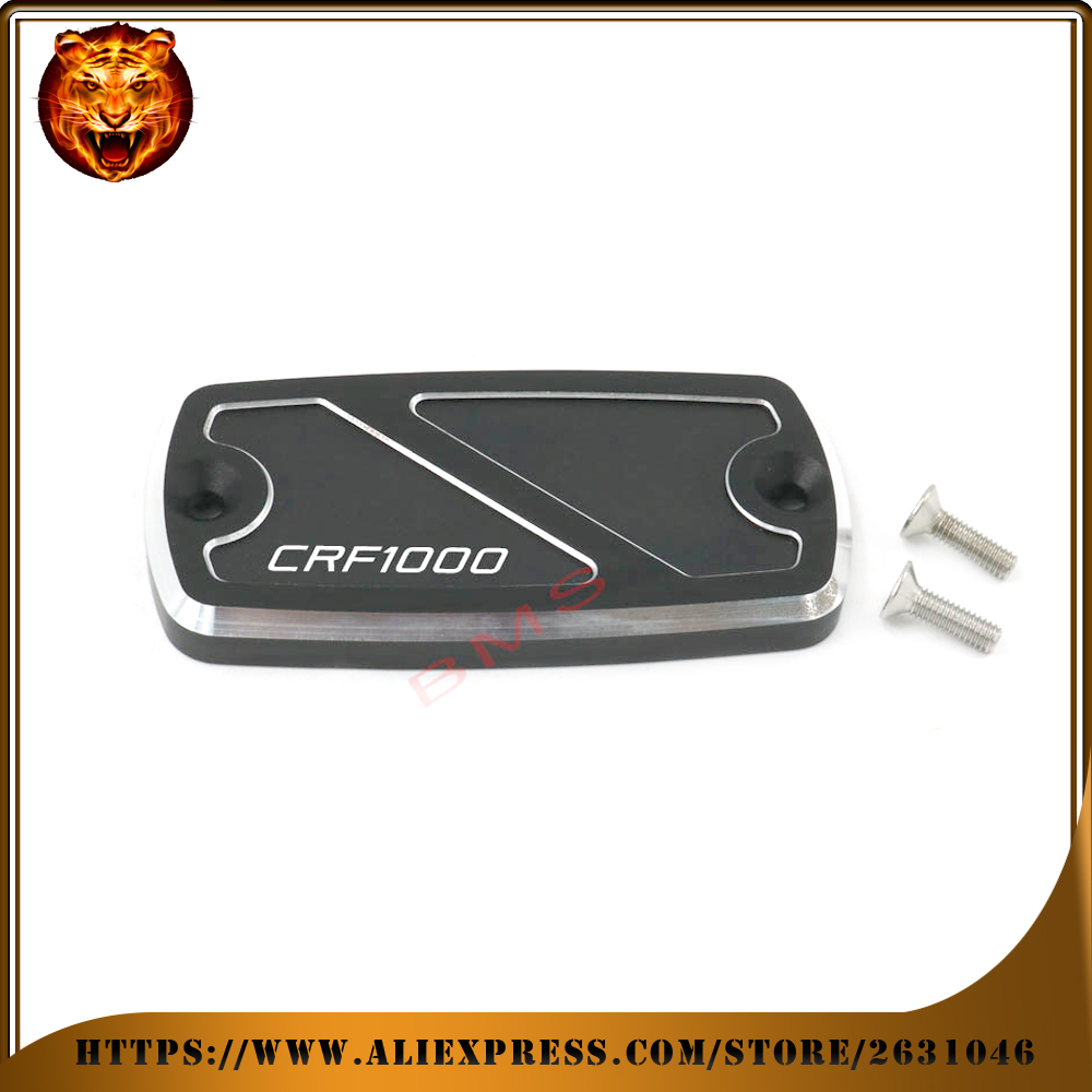 Motorcycle Front Brake Master Cylinder Fluid Reservoir Cover CAP free shipping logo For HONDA CRF1000 CRF 1000 2015 2016 for honda cbr600rr 07 15 cbr1000rr 04 15 cb1000r 08 15 red motorcycle front brake master cylinder fluid reservoir cover cap