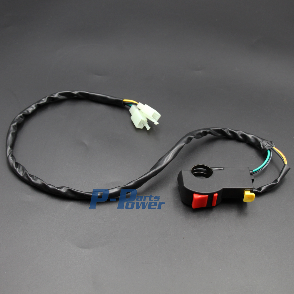 Full Wiring Harness Loom Kick Start Engine Solenoid Coil Regulator Electric Cdi Spark Plug Dirt Pit Bike 50 70 90 110 125cc Atv Trial New In Motorbike Ingition From