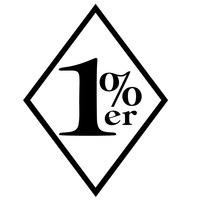 Atacado 10 pçs/lote 20 pçs/lote Engraçado 1% Milhões de Dinheiro Rico Auto D JDM Decalque do Vinil Cortado Etiqueta Gráfico Legal Único Para Carro janela