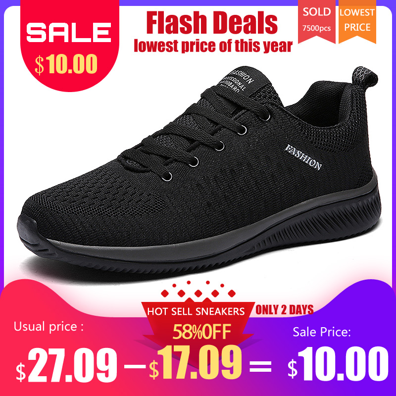 Men's Casual Shoes Lovely New Mesh Men Casual Shoes Lac-up Men Shoes Lightweight Comfortable Breathable Walking Sneakers Tenis Feminino Zapatos Tenis Led