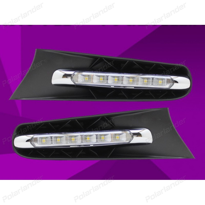 Car-styling LED fog lamp car accessories for L/exus C/T200h 2011-2013 LED daytime running light