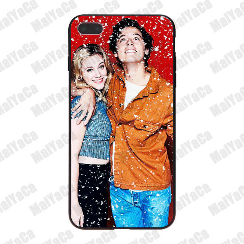 MaiYaCa Archie Betty Veronica Riverdale  Luxury Cool soft Phone Case for iPhone 8 7 6 6S Plus X 10 5 5S SE 5C Coque Shell
