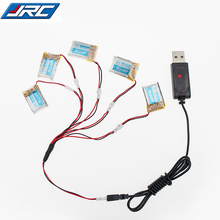Original 5pcs 3.7V 150mah 30C Lipo Battery For RC JJRC H20 Airplane Helicopter Drone battery + usb charger set
