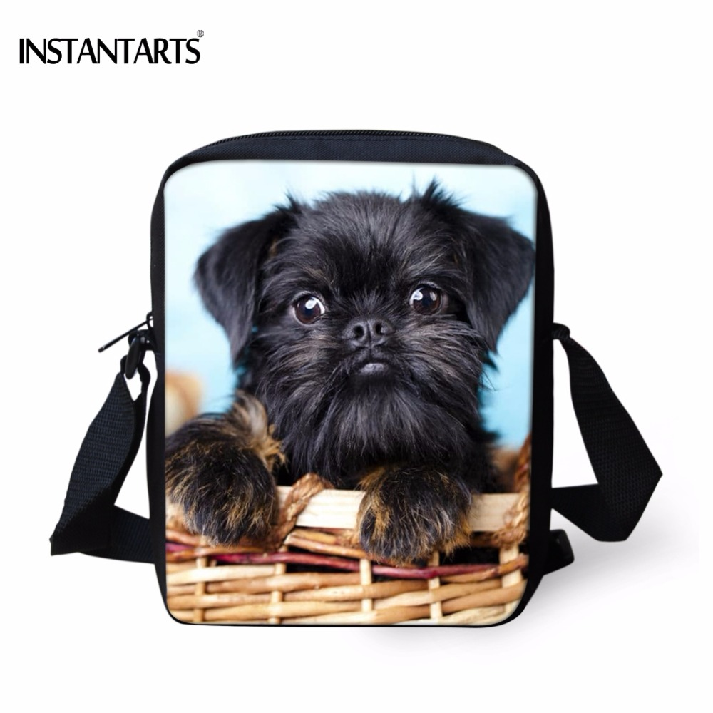 Express Shipping Pet Animal Designs Brussels Griffon Pattern Print Sneakers for Women