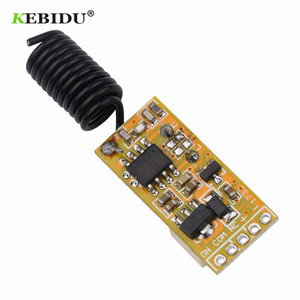 Image 5 - Kebidu 3.5 12V MINI รีเลย์ไร้สายสวิทช์รีโมทคอนโทรล LED หลอดไฟ Micro เครื่องส่งสัญญาณสำหรับไฟ windows