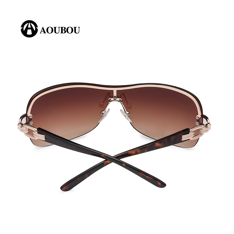 AOUBOU Luksuzne naočale za sunce bez rukava Ženska marka Dizajner s - Pribor za odjeću - Foto 5