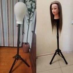 AliLeader trípode ajustable más fuerte maniquí cabeza soporte 70 cm-125 cm trípode peluca soporte trípode para peluca herramientas de formación