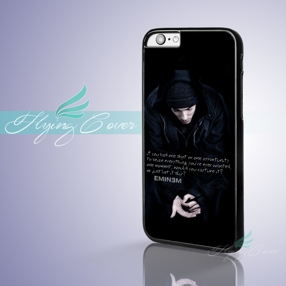 Coque Singer Eminem Lyrics Fundas Phone Cases For IPhone X ...