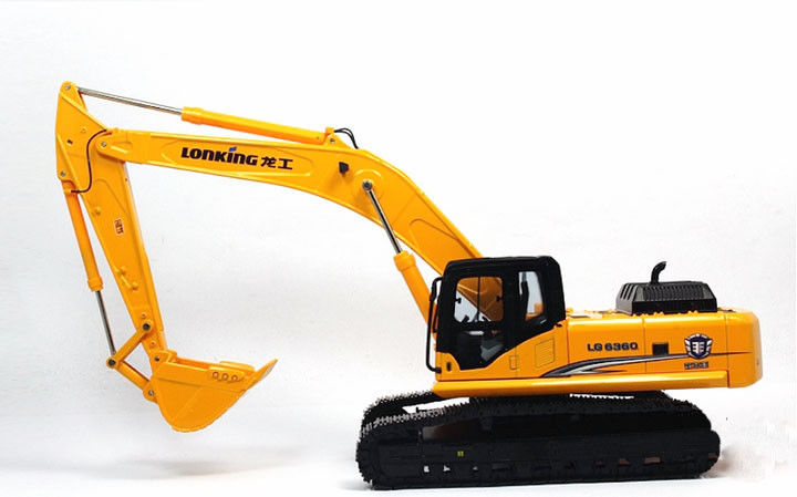 Rare 1:35 Lonking LG6360 Hydraulic Excavator Engineering Machinery Vehicles DieCast Toy Model Collection DecorationRare 1:35 Lonking LG6360 Hydraulic Excavator Engineering Machinery Vehicles DieCast Toy Model Collection Decoration