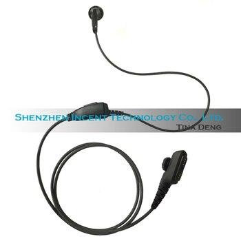 VOIONAIR 20pcs/lot Ear Bud Earphone Earpiece Headset Speaker PTT Mic for Airbus EADS THR9 TETRA Radio