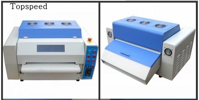 Mesin salutan UV profesional 12.5inch UV Laminating Machine - Elektronik pejabat - Foto 2