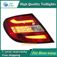 Car Styling Tail Lamp For Mercedes Benz W204 C180 C200 Tail Lights LED Tail Light Rear