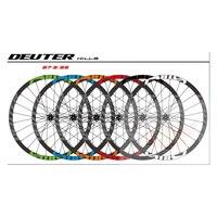 Newest MTB Bicycle Wheelset CNC Rim Cycling Mountain Bike Wheel Compatible QR Axle Hubs Bike Part