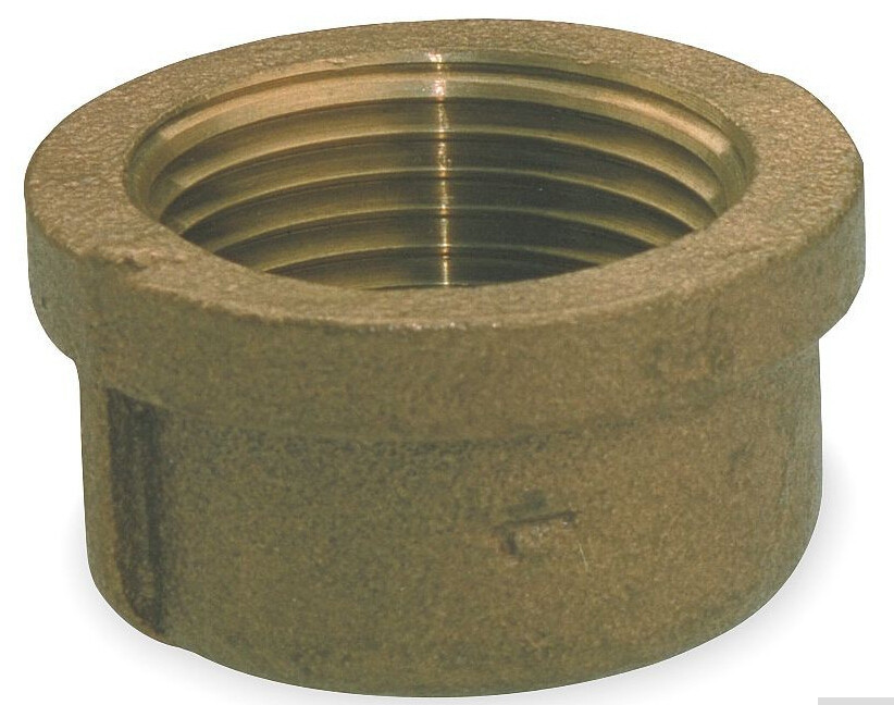 Free Shipping Npt 2quot Female Threaded Brass Plug Pipe Cap