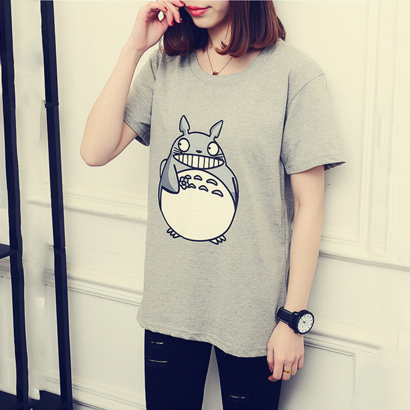 OHRYIYIE 2017 Spring Summer Cute Totoro T Shirt Women ...