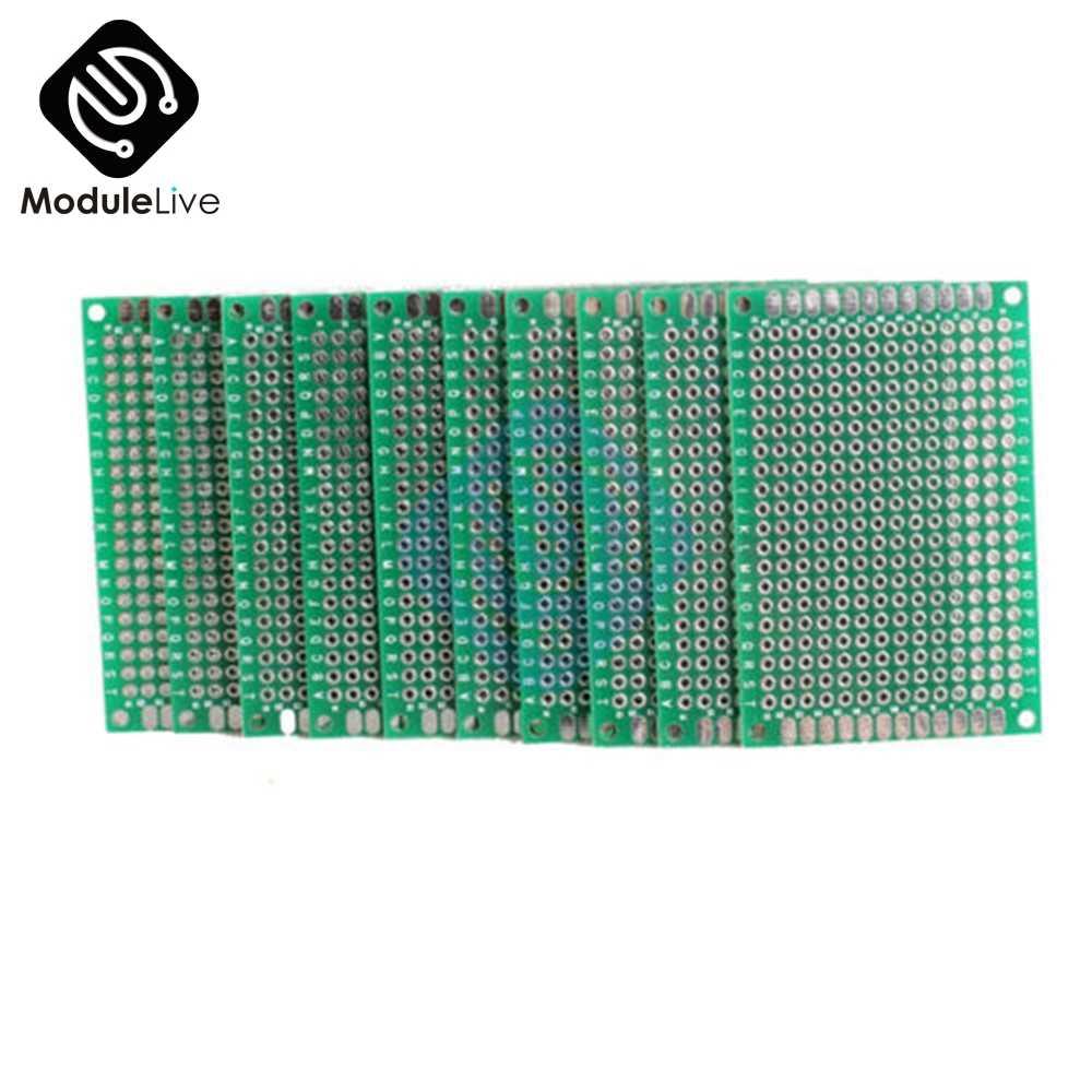 Carte électronique universelle de carte PCB de Prototype de Double côté de 4x6cm 4x6cm