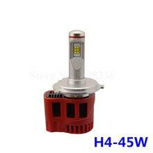2pcs LED Headlight H4 Mini Lamp P6 90W  9000LM White 6000K Universal CAR-Styling Waterproof Headlamp Conversion Kit