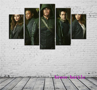 Green Arrow 1 Canvas Painting Living Room Home Decor Modern Mural Art Oil Painting