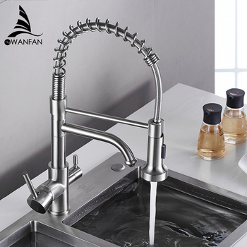 Kitchen Faucets torneira para cozinha de parede Crane For Water Filter Tap Three Ways Sink Mixer Faucet WF-0199 - discount item  45% OFF Kitchen Fixture