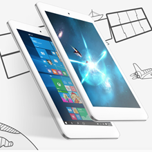8'' IPS Cube iwork8 Air Windows10+Android 5.1 Tablet PC 1920x1200 Intel Cherry-Trail Z8300 Quad Core HDMI 2.0MP Dual Camera