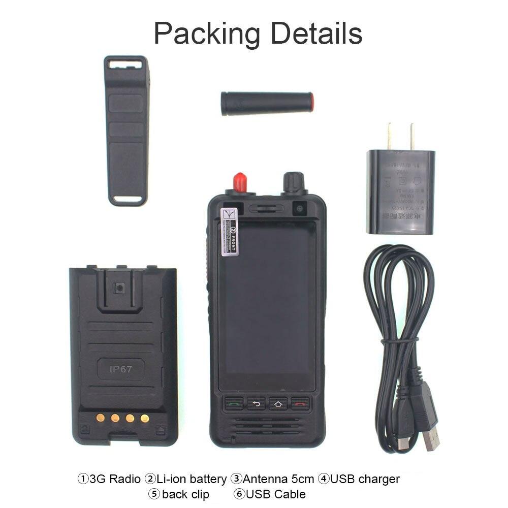 Anysecu W5 Network Radio 3G Android 6.0 Mobile Phone IP67 5000mAh PTT Radio UHF Walkie Talkie Bluetooth Wifi GPS REAL PTT ZELLO 6