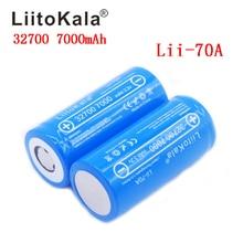 LiitoKala 32700 Lii 70A 3,2 v 7000 mAh lifepo4 akku zelle LiFePO4 5C entladung batterie für Backup Power taschenlampe