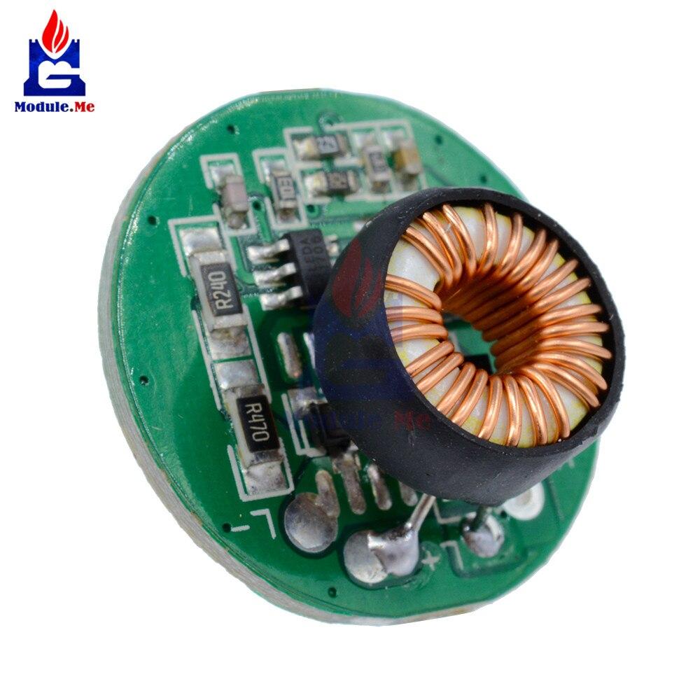 Power Supply Lighting Transformer Switch Flashlight Led Driver Drive 50 Prototype Pcb Circuit Panel Solder Diy 50x70 Board 1 X 10w 3 12v 20mm With T6 U2 Xm L2