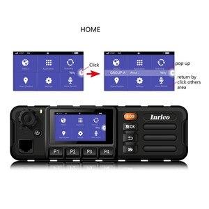 Image 4 - Walkie talkie 50 km 4g rede estação de rádio do carro mais novo lte wcdma gsm wifi bluetooth gps rádio do carro móvel com tela de toque sim