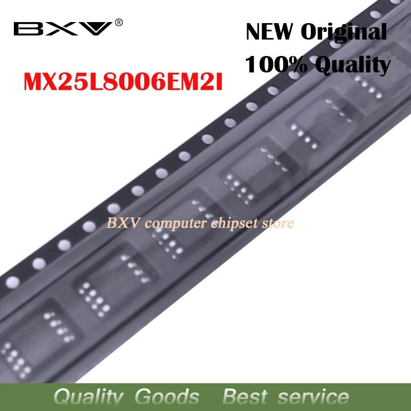 5pcs MX25L8006EM2I-12G 25L8006EM2I-12G MX25L8006E MX25L8006 25L8006E SOP-8 New Original