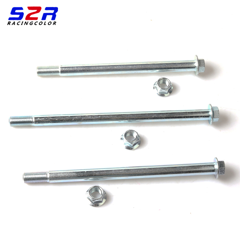 OTOM Motorcycle Rear Axle Galvanized Steel Rear Wheel Axle Motocross Shaft Pivot Assy For HONDA CRF250R CRF250X CRF450R CRF450X