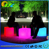 Remote Control Cordless Chargeable Lighted LED Chair Set Glowing Bar Furniture Restaurant Hotel Home Dining Room
