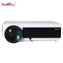 Poner саунд 5500 люмен светодиодный проектор Full HD цифровой домашний кинотеатр usb ТВ Поддержка 1080 P видео ЖК-3D proyector projetor