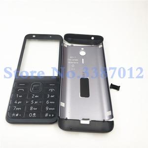 Image 2 - Ban đầu Cho Nokia 230 New Full Hoàn Chỉnh Điện Thoại Di Động Nhà Ở Cover + Tiếng Anh Bàn Phím + Logo