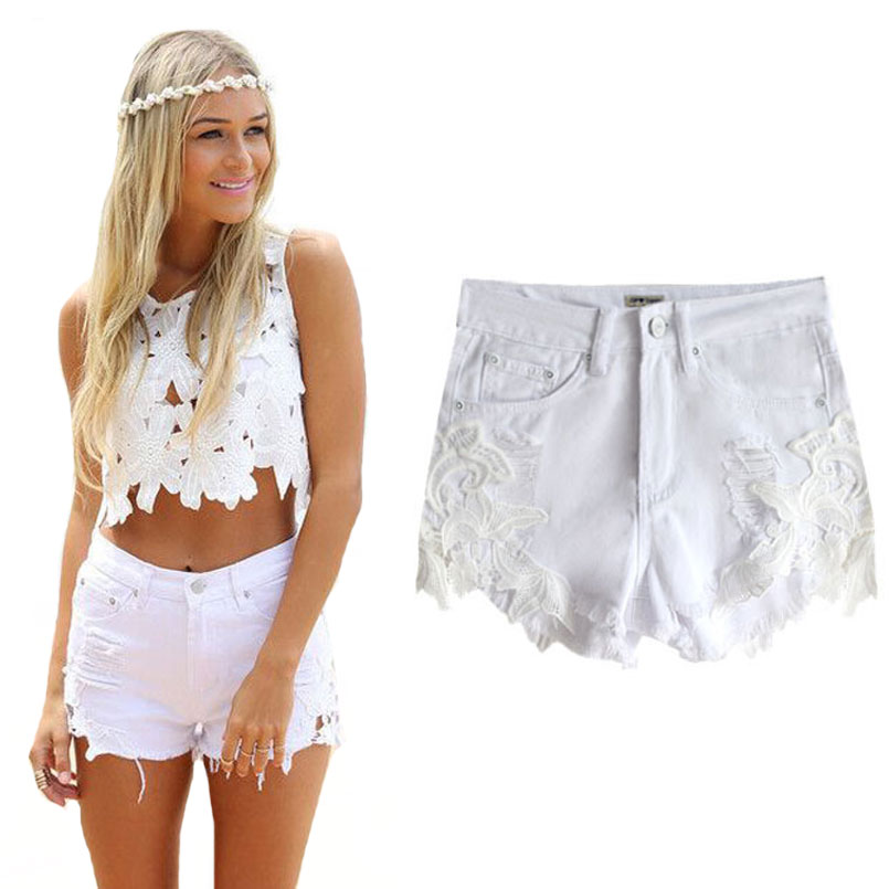 Online Get Cheap White Denim Shorts -Aliexpress.com | Alibaba Group