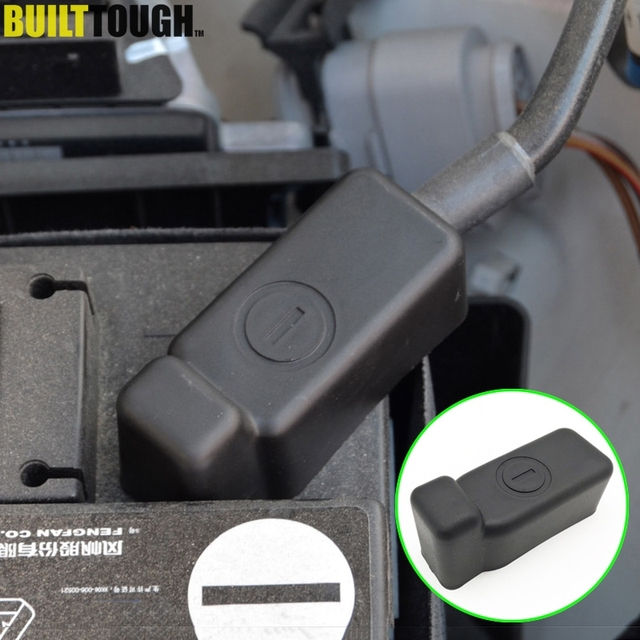 ABS Battery Batteries Negative Power Cable Clamp Terminal Protector Cover Covers For VW Vento Polo Ameo Skoda Fabia Rapid