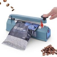 220V 300W Manual Plastic Film Sealer Heat Impulse Sealer Poly Bag Plastic Food Packing Tools