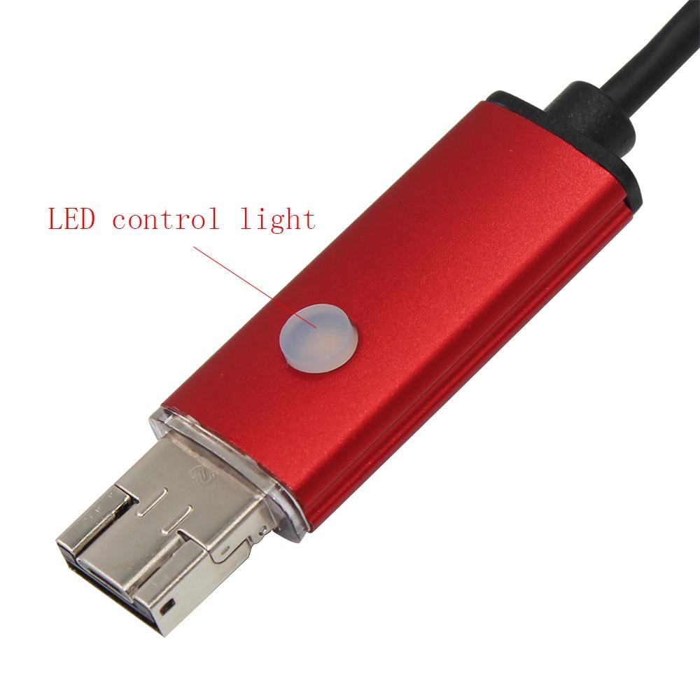 Endoskop USB 2IN1 PC Kamera Android 5.5 mm 1M 2M 5M lente IP67 tub i - Siguria dhe mbrojtja - Foto 3