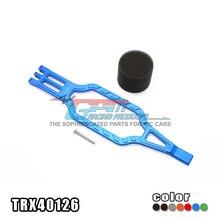 Traxxas trx-4 trx4 82056-4 Батарея нажмите пластина из алюминиевого сплава с нержавеющая сталь винт высокой рассеивать тепло-1 шт. trx40126