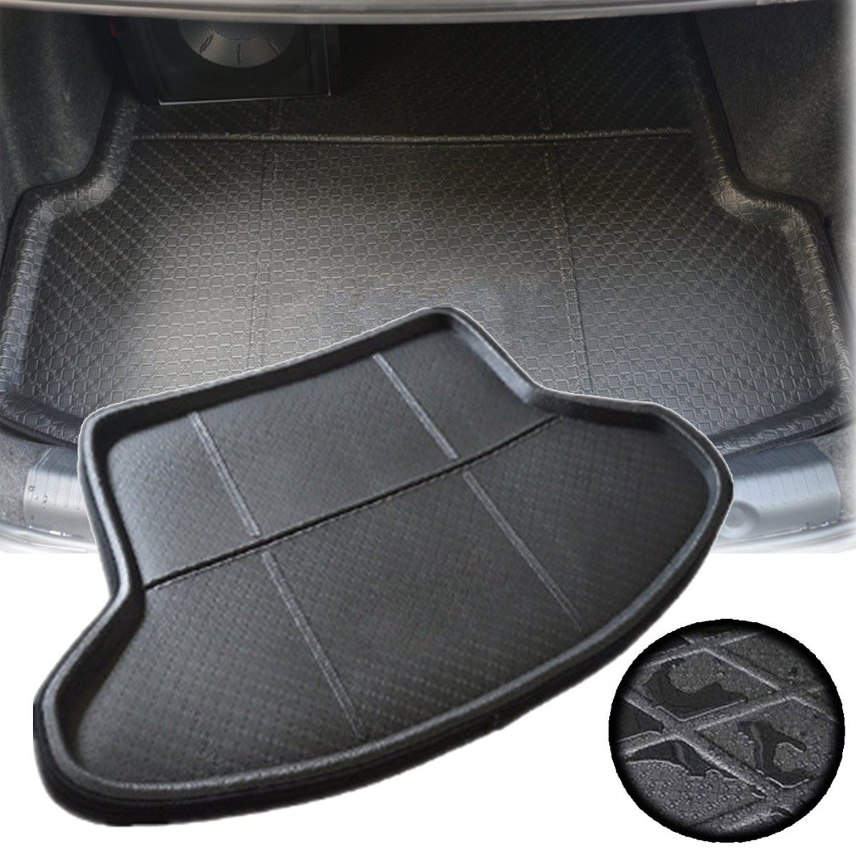 Mat Carpet Liner Cushion Trunk Waterproof Toyota Floor Rear For Prius Protective-Mats